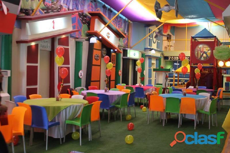 ¡disfruta la experiencia de celebrar tu fiesta en pequetropoli toluca!