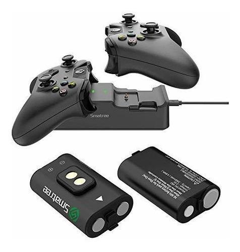 Cargador baterías xbox one baterías recargables