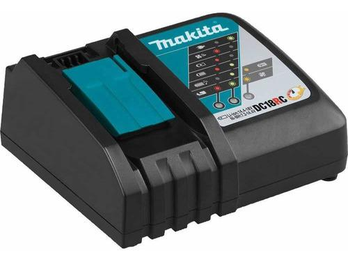 Cargador rápido makita 18v para batería pila dc18rc nuevo