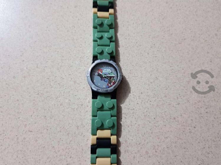 Excelente reloj lego star wars