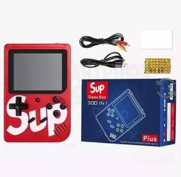 Game box sup 400 juegos retro mini consola portati