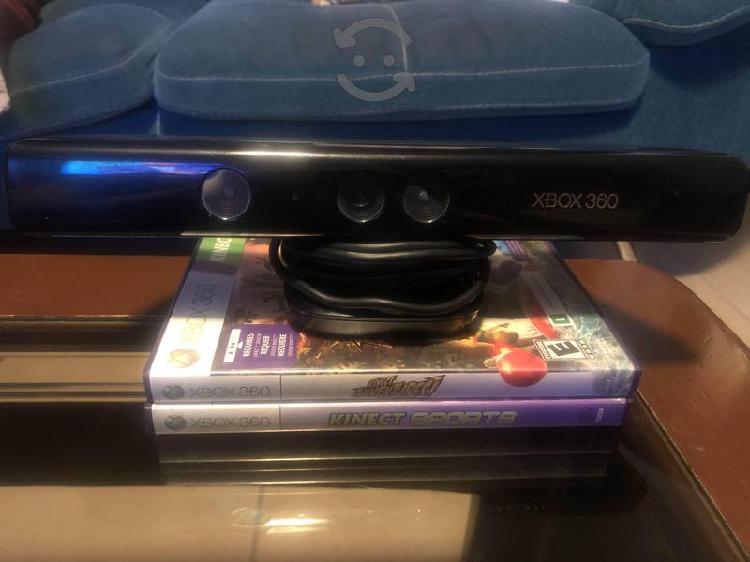 Kinect y juegos de xbox 360