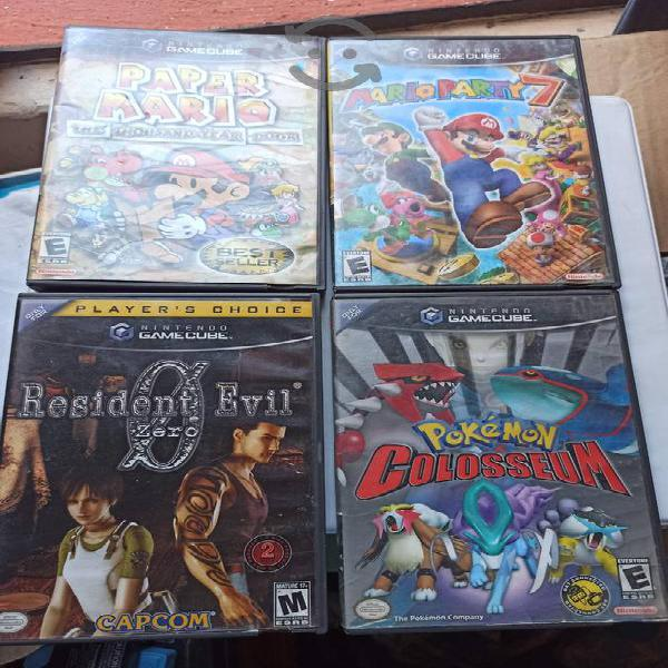 Lote juegos gamecube nintendo