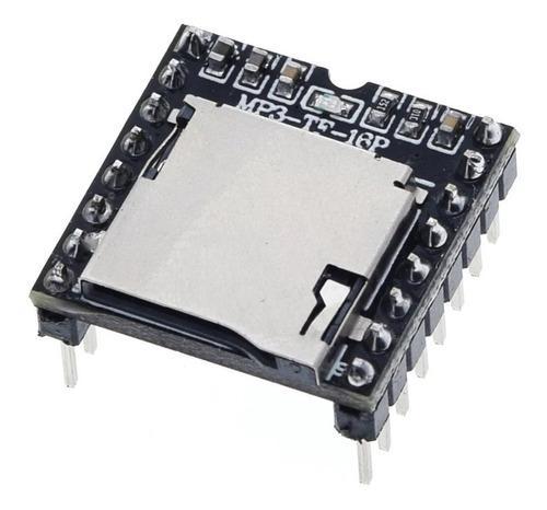 Mini modulo reproductor mp3 arduino tf card microsd