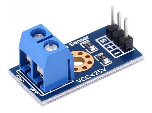 Modulo sensor detector de voltaje 0 a 25v arduino pic avr