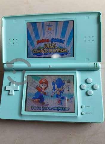Nintendo lite azul