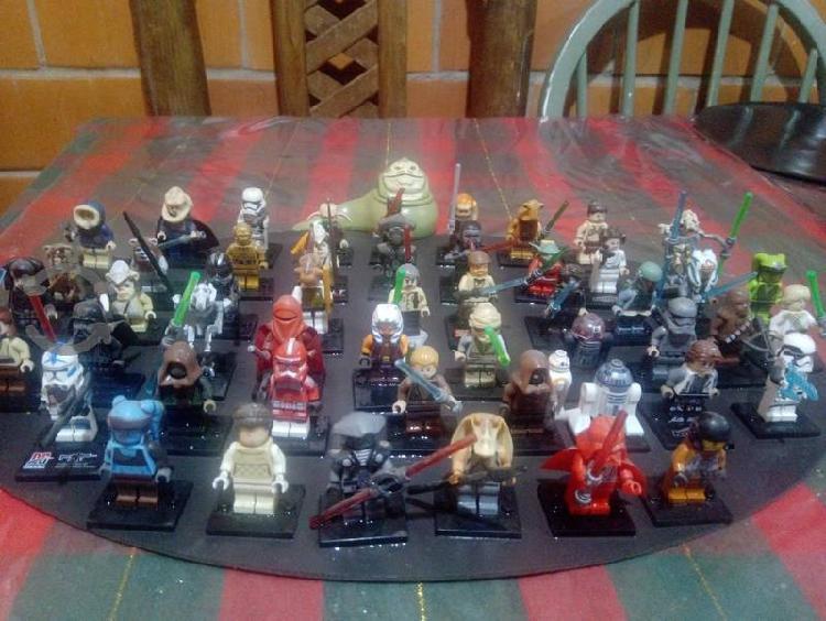 Star wars coleccion de 56 piezas