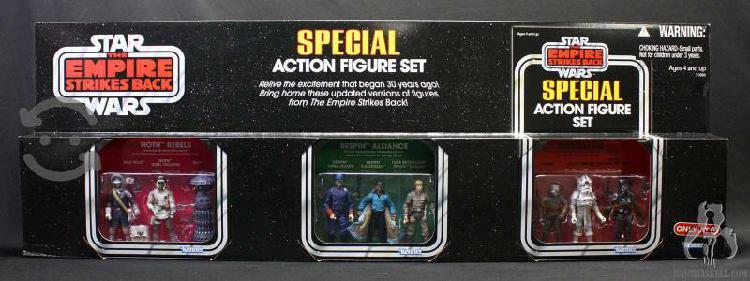 Star wars vintage special action figure set