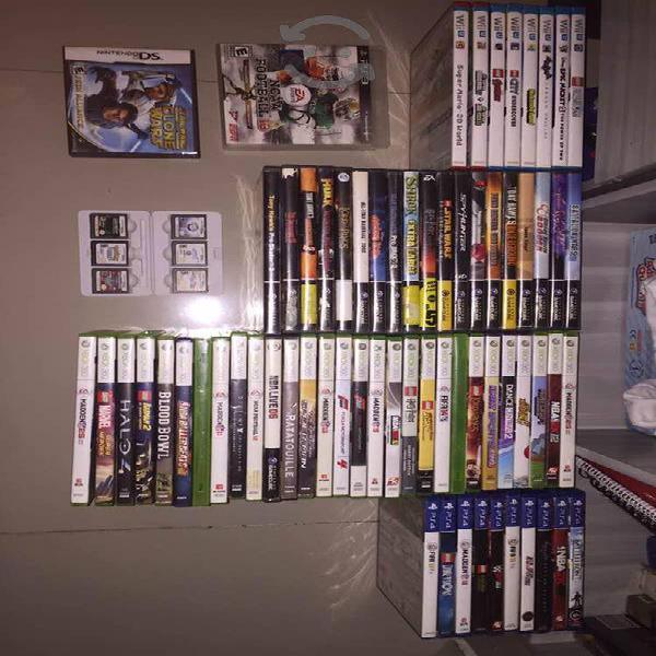 Video juegos para gamecube,xbox 360,wii u,ps4,ds