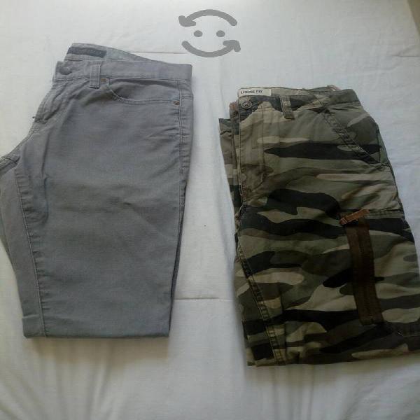 Pantalones tipo skinny