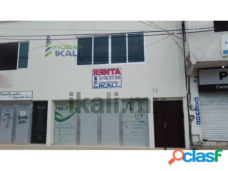 Renta oficinas 26 m² col. centro tuxpan veracruz, tuxpan de rodriguez cano centro