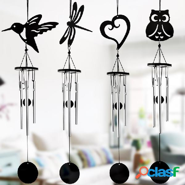 Metal viento campana colgando adornos regalos jardín al aire libre puerta ventana decoración carillones de viento