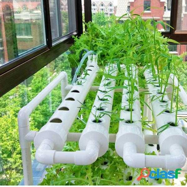 Kit de cultivo de sitio hidropónico de 6 agujeros flow dwc deep water culture planting system