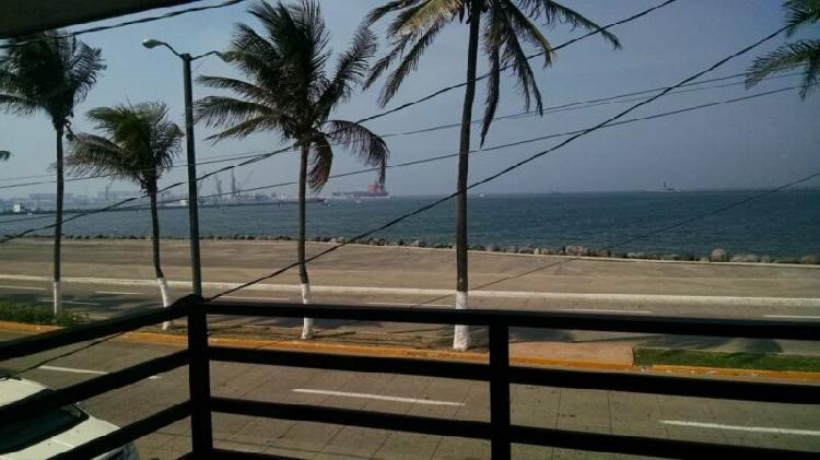 Casa en renta frente al mar en veracruz puerto