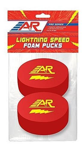 A &r sports pro series velocidad de iluminación pucks de