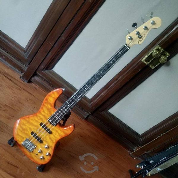 Bajo fender jazz bass deluxe 24