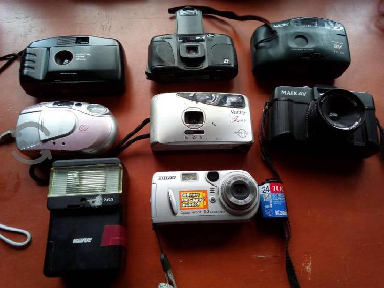 Camaras fotográficas de rollo, funcionan baratas