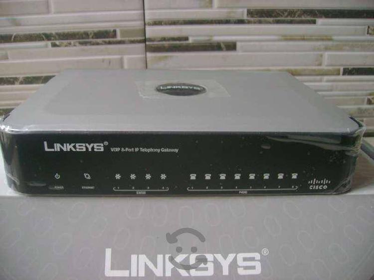 Gateway telefonía vozip linksys nuevo