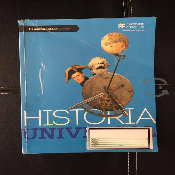 Historia universal macmillan education