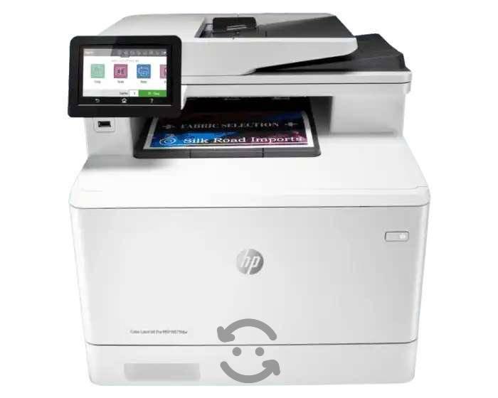 Impresora hp color laserjet pro m479fdw