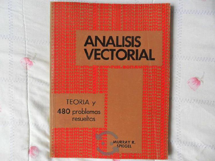 Libro análisis vectorial teoría y 480 problemas re