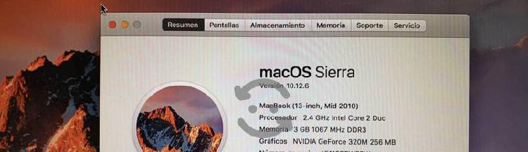 Macbook blanca 2010