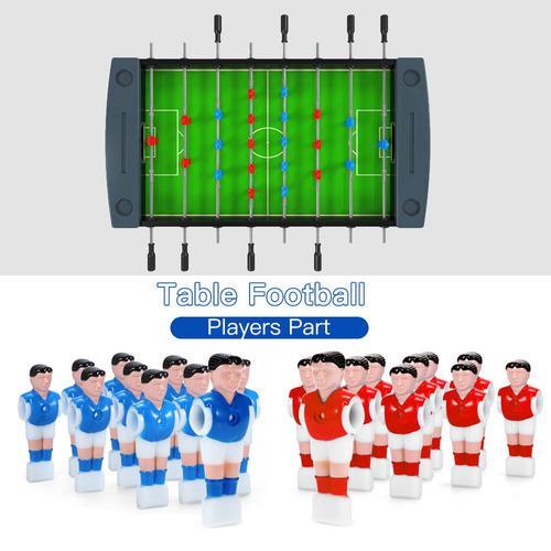Mesa mesa fútbol machine muñeca 15.8mm calibre juegos11pcs
