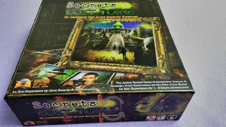 Secrets of the lost tomb juego de mesa