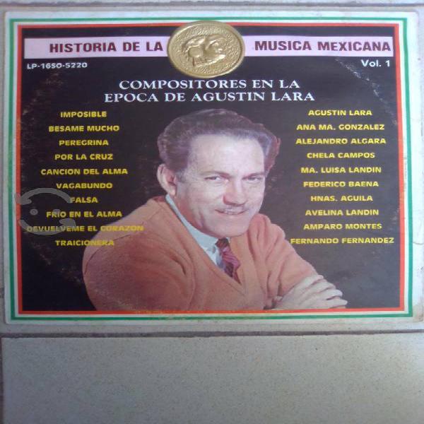 """Varios artistas historia de la musica mexicana 1"""""""