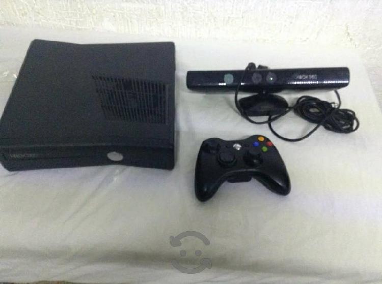 Xbox360 disco 200gb con kinect con juegos