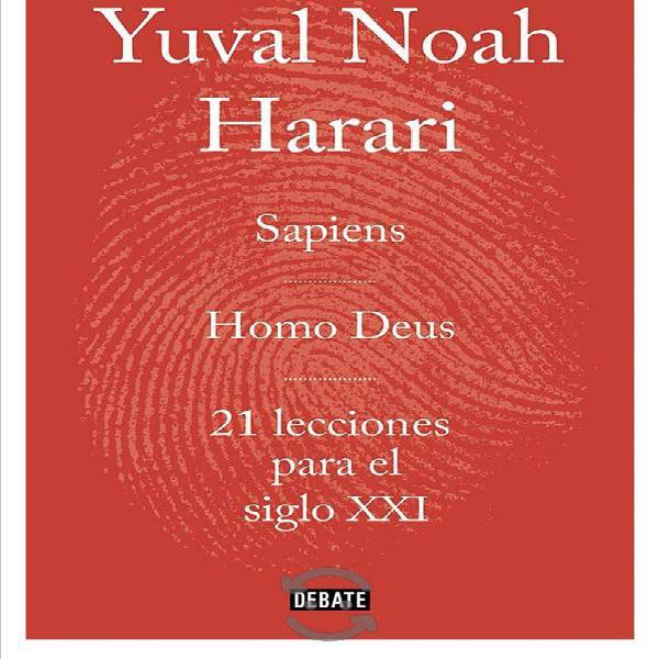 Trilogía de libro de animales a dioses,homo deus