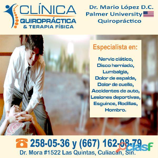 Consultorio quiropractico profesional en culiacan