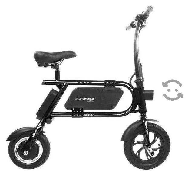 Bicicleta electrica swagcycle envy black sin pedal