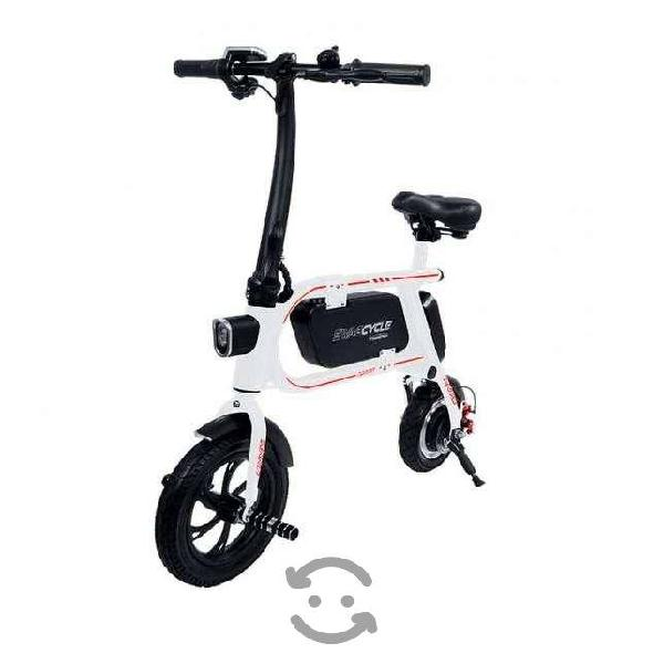 Bicicleta electrica swagcycle envy white sin pedal