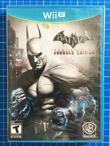 Batman arkham city armored edition wiiu ¡juegazo!