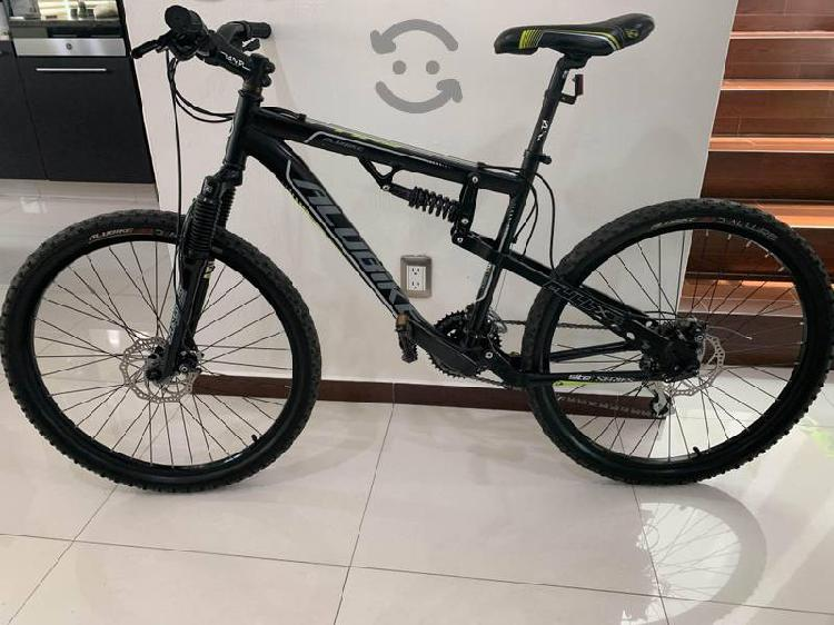 Bicicleta de montaña alubike rodado 26