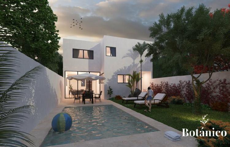 Casa residencial en venta en Botánico Residencial Conkal
