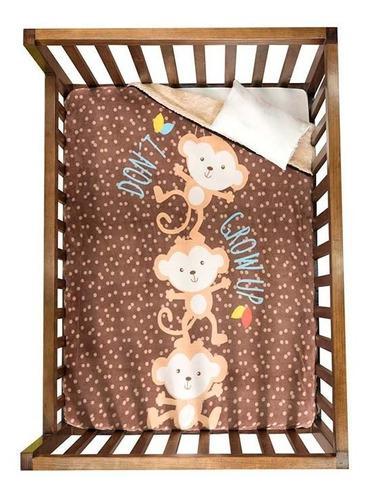 Cobertor Siberia Vianney Bebe Cuna Changuitos