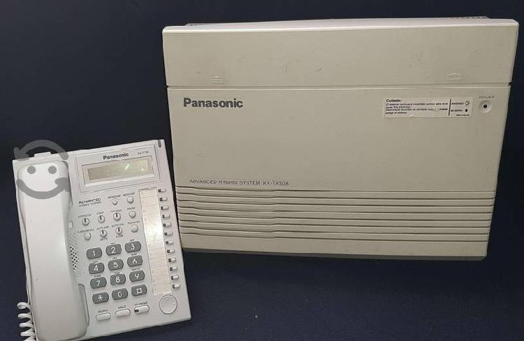 Conmutador panasonic kx-ta308 + telefono kx-t7730