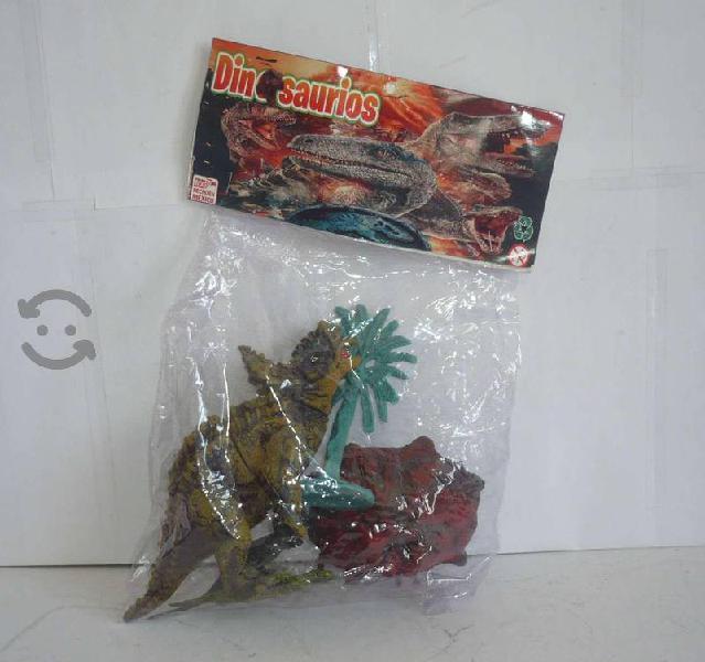 Dinosaurio triceratops maqueta figuras de juguete