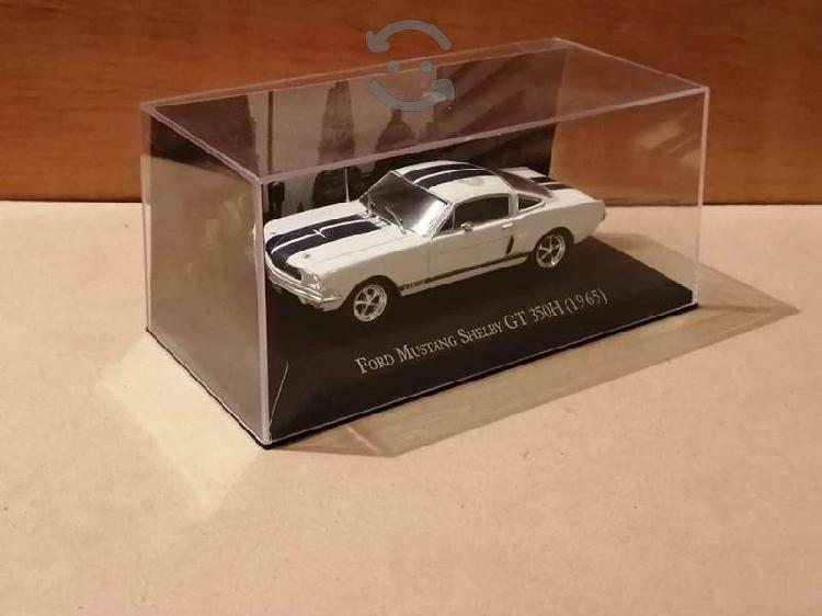 Grandes autos memorables mustang escala 1/43