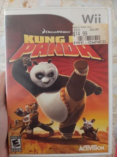 Juego De Wii King Fu Panda Importado En Ingles