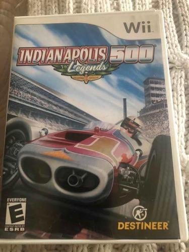 Juego Wii Indianápolis 500