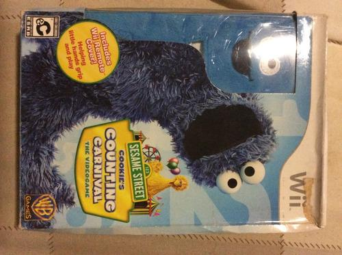 Juegos nintendo wii 3x2 sesame street cookie's counting carn