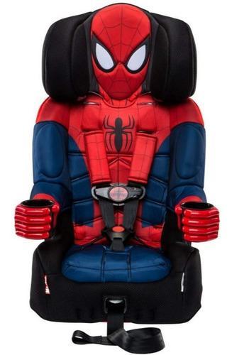Kidsembrace 2 en 1 asiento de niño para carro hombre araña