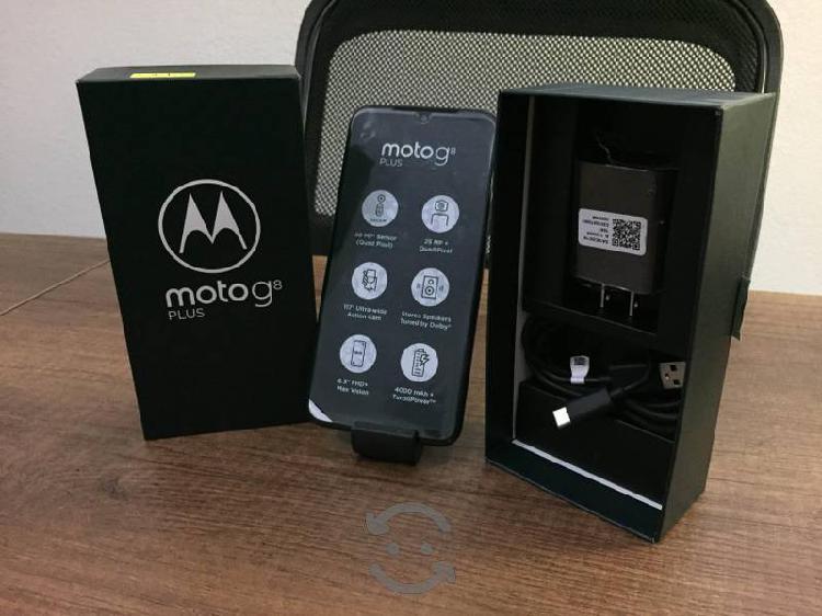 Motorola g8 plus con garantía y ticket de compra