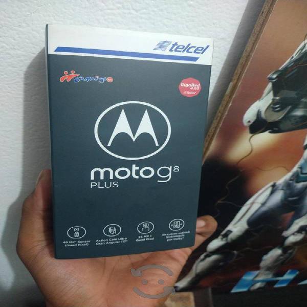 Motorola g8 plus como nuevo sin detalles