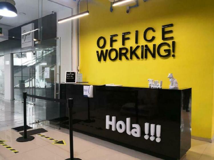 Oficina En Renta Coworking Buena Ubicacion A 5 Minutos Del