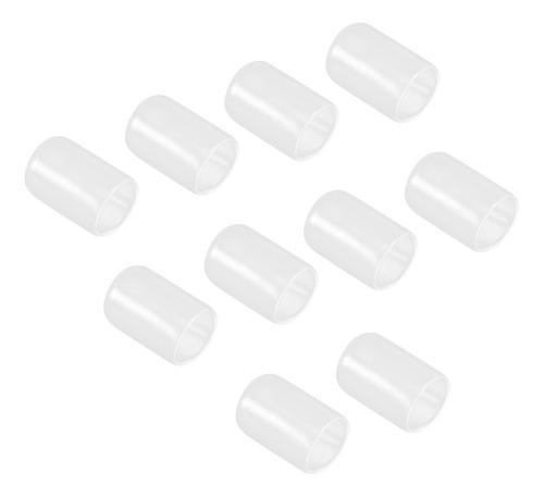 Pa de 10 funda protectora de silicona transparente para