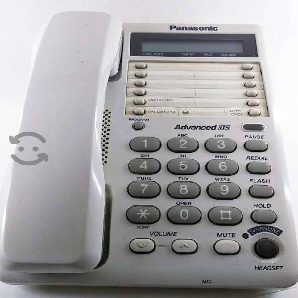 Teléfono panasonic kx-ts108lxw
